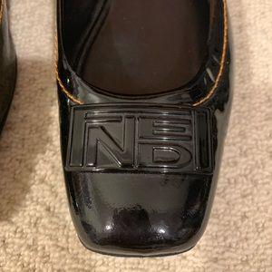 Fendi Shoes - Fendi Black Patent Ballet Flats